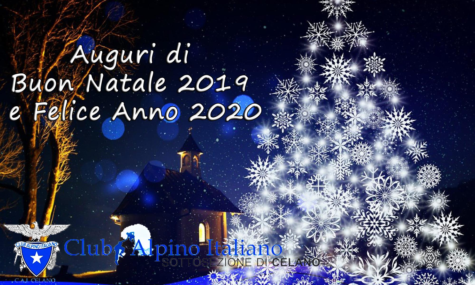 Buon Natale 2019 e Felice Anno 2020